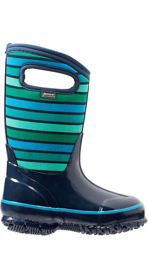 Bogs Kids Classic Stripes Dark Blue Multi